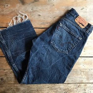 "Levi's vintage jeans 29"" waist urban renewal"